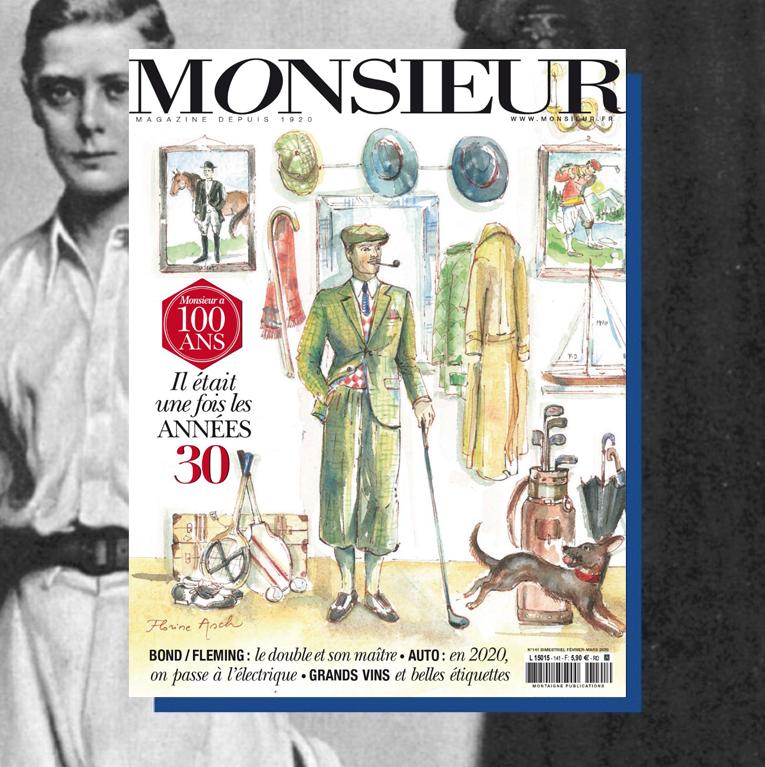Monsieur magazine février mars 2020